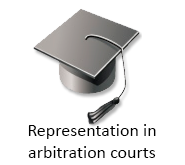 Representation in arbitration courts